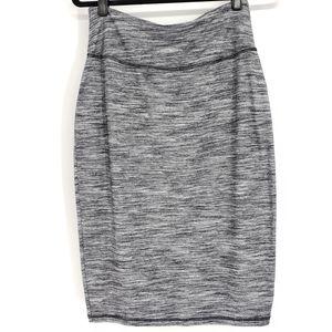 Athleta  High Rise Tube Pencil Skirt - Small